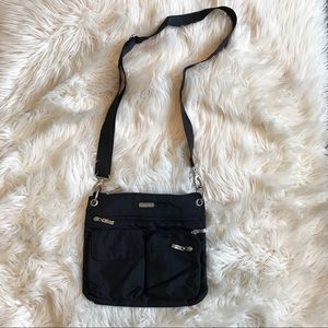 Baggallini | Black Nylon Crossbody Bag
